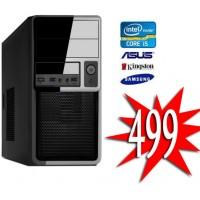 GOEDKOOPSTE INTEL I5 7400 / 120GB SSD+ 1TB / 8GB  / Windows 10 Pro