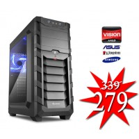 Budget Game PC / AMD A6-9500 / 4GB / 240GB SSD / RADEON R5 / HDMI
