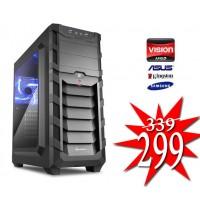 Budget Game PC / AMD A6-9500 / 4GB / 240GB SSD / RADEON R5 / HDMI