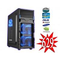 ALLIGATOR GAME PC Intel i5 6400 /8GB / 1TB / GTX 1050 Ti 4GB