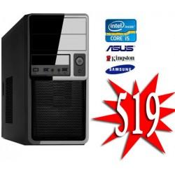 GOEDKOOPSTE INTEL I5 8400 / 120GB SSD+ 1TB / 8GB  / Windows 10 Pro