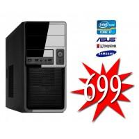 GOEDKOOPSTE INTEL COFFEE LAKE  I7 8700 / 16GB DDR4 / 240GB SSD / HDMI