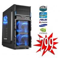 i7 GAME PC / Six-Core i7 8700 / 8gb DDR4 / 240GB SSD / GTX 1050 2GB