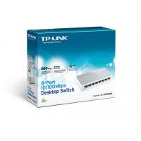 TP-Link 8 poort Switch 10/100mbps