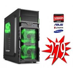Budget Game PC / AMD A6-5400 / 4GB / 1TB / HD7480 1GB HDMI