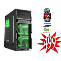 SIX-CORE GamePC / FX-6300 / 1TB / 8GB / GTX 1050 2GB