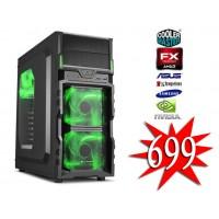 4. AMD ULTIMATE GAME PC / AMD FX-8320 / 16GB / 1TB / GTX 1060 3GB
